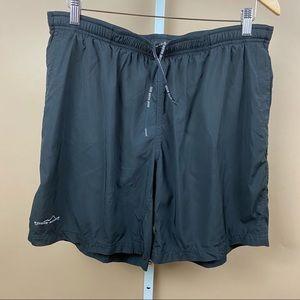 Eddie Bauer Loose Swim Sport Shorts Black Large
